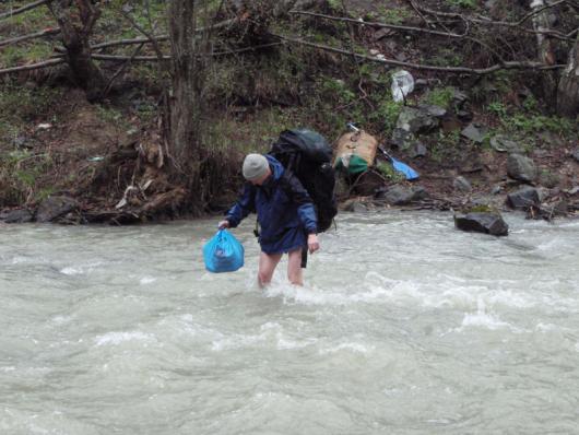 Сплав по реке Малка, Кабардино-Балкария, 2009 год