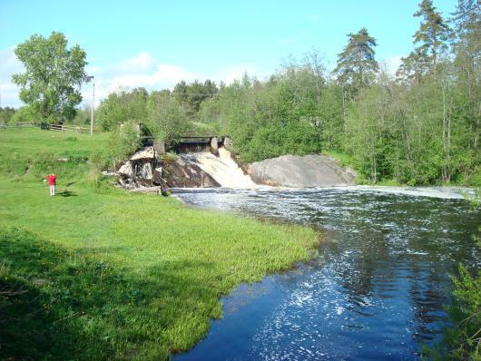 Фото с поездки по водопападам Карелии в июне 2008 года.