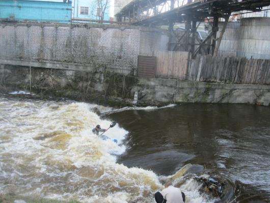 Про Тьмацкий вал в апреле.